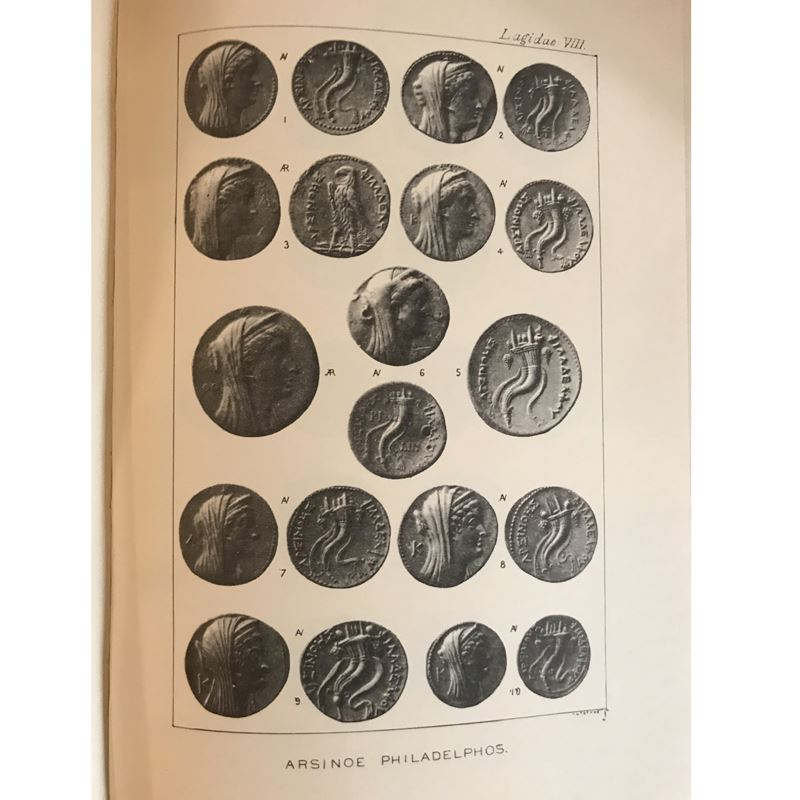 POOLE   Catalogue of Greek Coins in the British Museum   The Ptolemies, Kings of Egypt