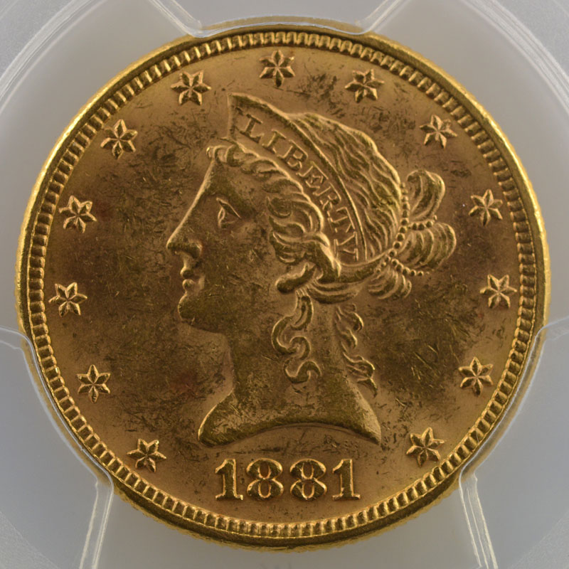 1881    PCGS-MS62    SUP/FDC