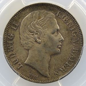 1/2 Gulden   1869    PCGS-MS62    SUP/FDC