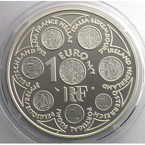 1,5 €   Europa   2002   37mm   22,2 g - Ag 900 mill.    BE