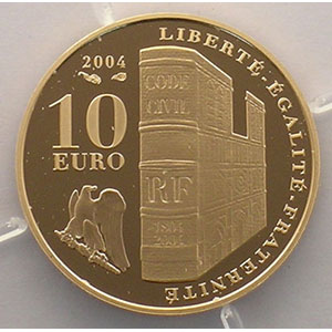 10 Euro   2004    BE