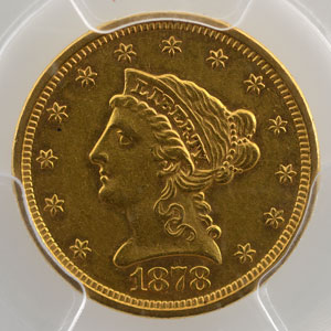 1878 S  San Francisco    PCGS-AU58    SUP