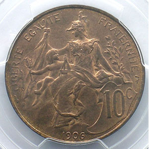 1906    PCGS-MS65RB    FDC