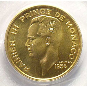 1956  Essai en or    PCGS-SP67    FDC