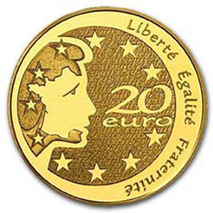 20 €   2004   Marianne   or  1/2 oz     BE
