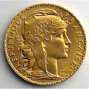 millésimes divers   (6,45 g or 900 mill.)    SUP/FDC