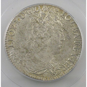 Teston 1713   flan neuf   PCGS-MS62    SUP/FDC